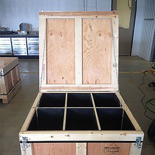 Specialty - compartment crates