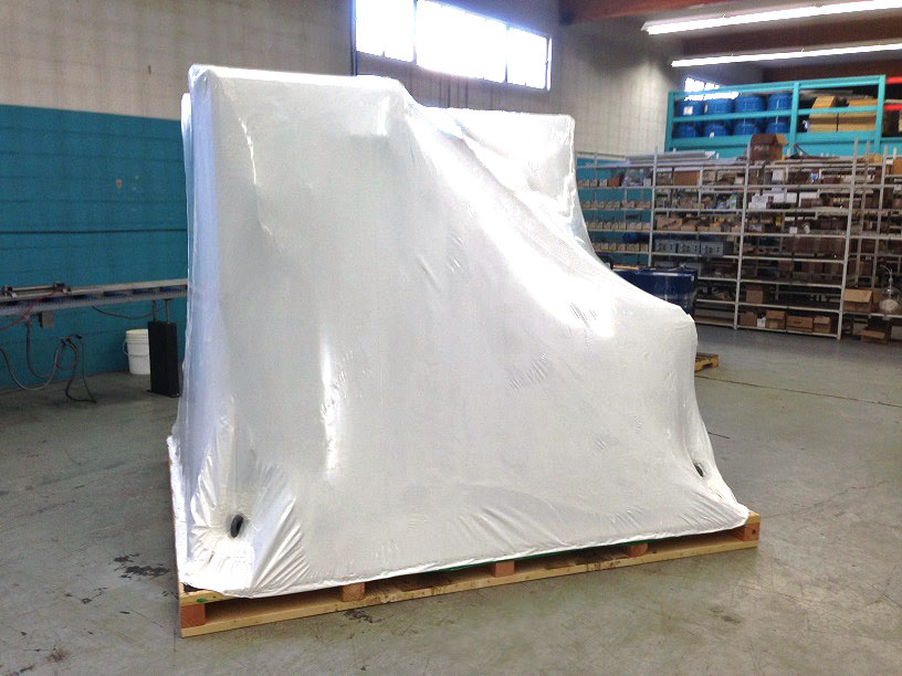Industrial Shrink Wrap Services Prowest Shipping