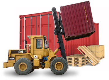 Container loading & destuffing/cross dock services Edmonton, Alberta.